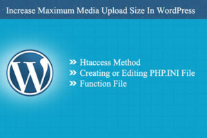 That's how you can increase maximum media upload size in wordPress